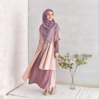 terlaris baju muslim wanita RUNA DRES   gamis murah bandung   grosir hijab  murah  b585c6019b