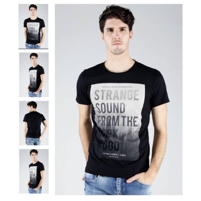 Bombboogie Original Black T-shirt  e1265ff18c
