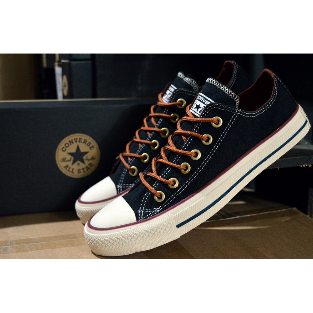 d5a222e3bbed Sepatu Converse Allstar Ox Leather Special Color Grade Original Made In  Vietnam