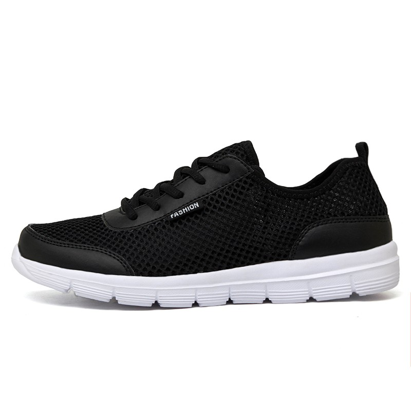 Couple Mesh Summer Breathable Casual Lace Shoes Fashion Lover 2018 Mens Up Men Sneakers OPkuiXZ