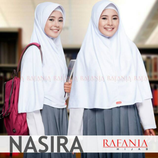 Jilbab Nasira Rafania Hijab Kerudung Jilbab Instan Bergo Anak