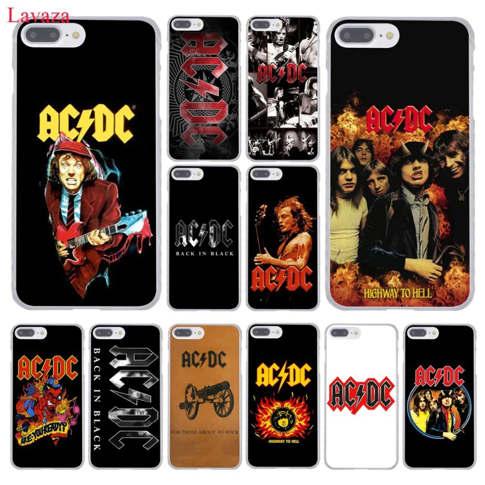Terlaris Lavaza ac dc acdc poster Malcolm Young Phone Case for Apple iPhone XR XS Max X 8 7 6 6S