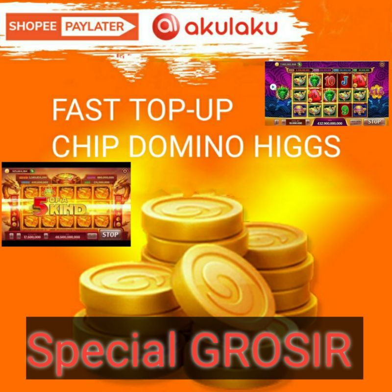 Chip / Koin / Cip / Coin / Chips / Ungu / MD higgs domino island 1B murah