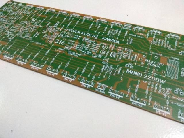 PCB Power Amplifier Class H 2200 Watt Built up 3U | Shopee