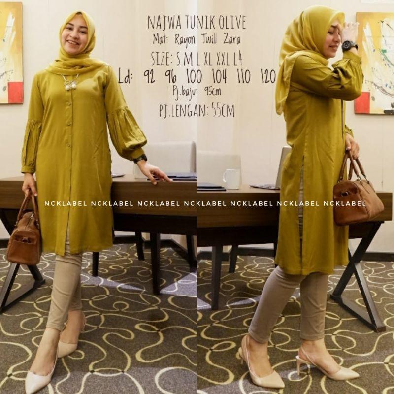Najwa tunik by nck label