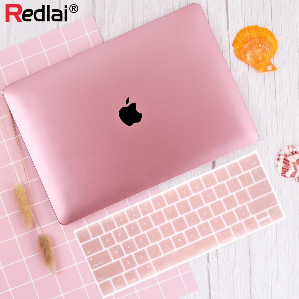 """Casing Case Bahan Metal Warna Rose Gold untuk Macbook Air 1 1 Inci Pro  1.1"""" Retina 1.1"""""""