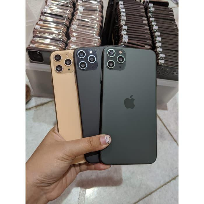 Handphone Original Hdc Ultimate Iphone 11 Pro Max 3g 16gb 1 1 Like Ori Hitam Shopee Indonesia