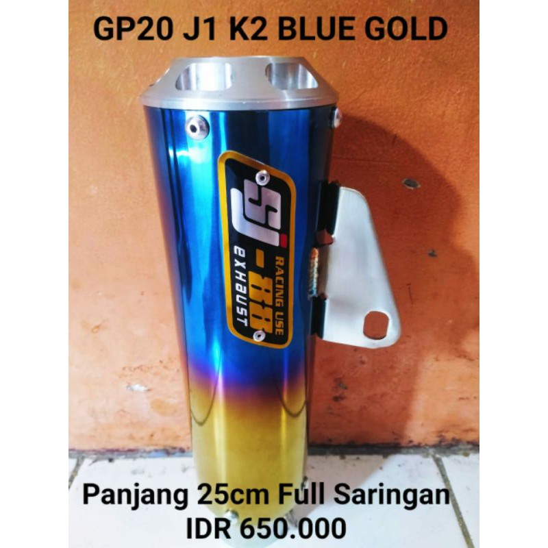 SJ88 GP20 LONG BLUE GOLD