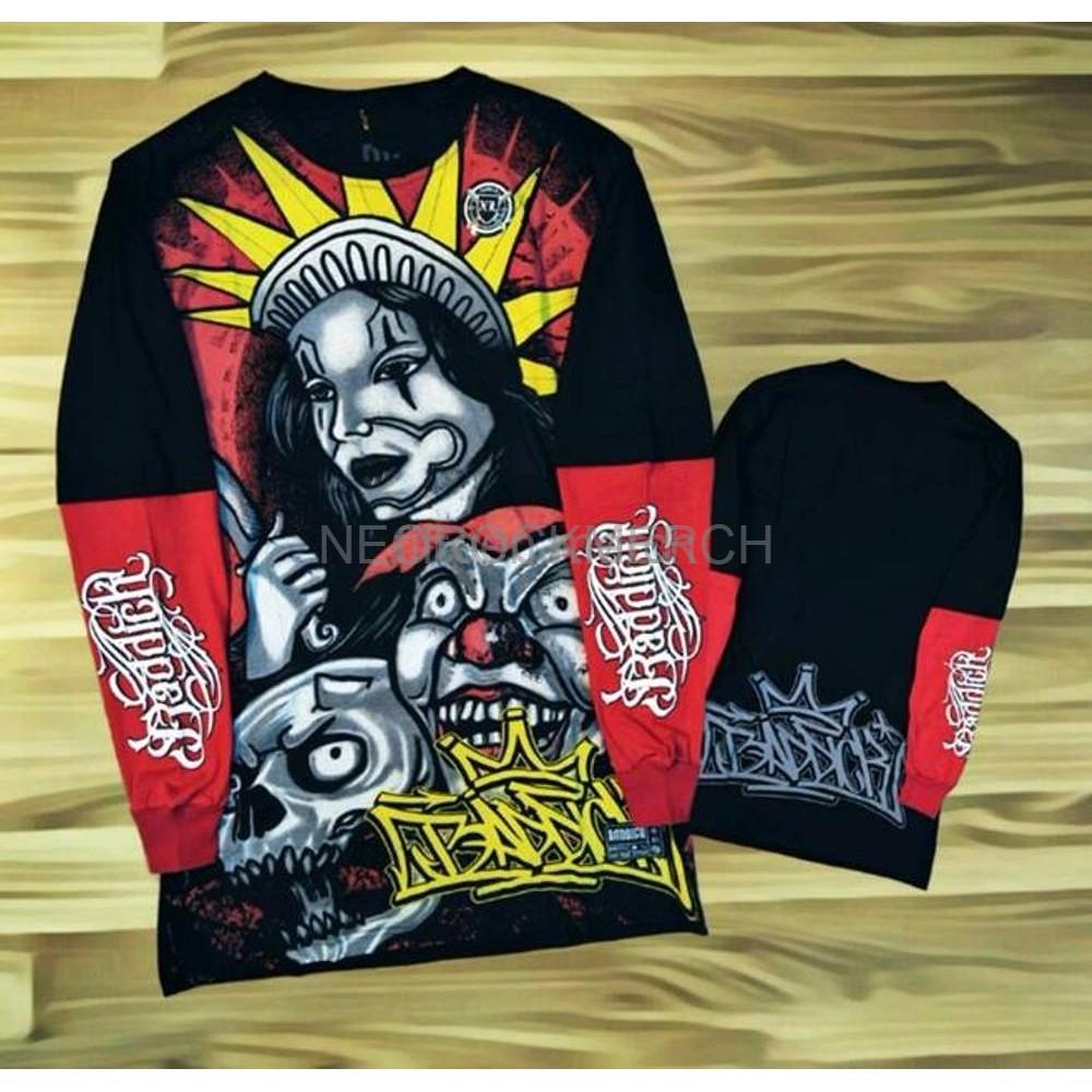 Hot Promo Kaos Distro Original Lengan Panjang Sambungan Full Print Oblong Cowok Baju  Grosir Ecer Supplier 3d Tshirt Ter Shopee Indonesia