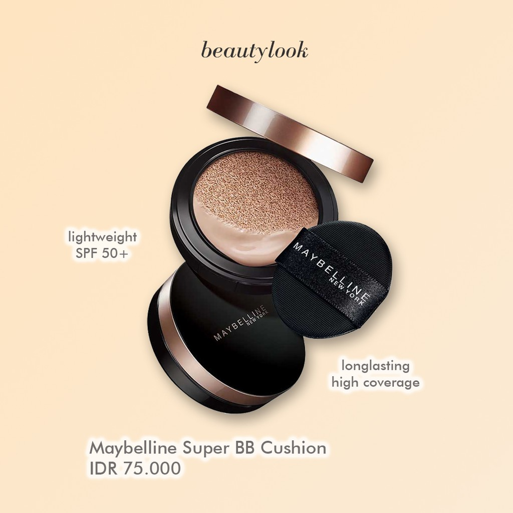 [NEW] MAYBELLINE ULTRA COVER SUPER CUSHION REFILL BB MAYBELINE FOUNDATION POWDER REFIL BEDAK BASAH | Shopee Indonesia