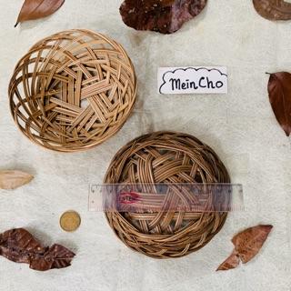ring nest keranjang rotan bird nest mangkok pot rotan lidi