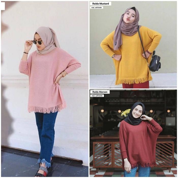 Belanja Online Atasan Muslim Wanita - Fashion Muslim  c603283e95