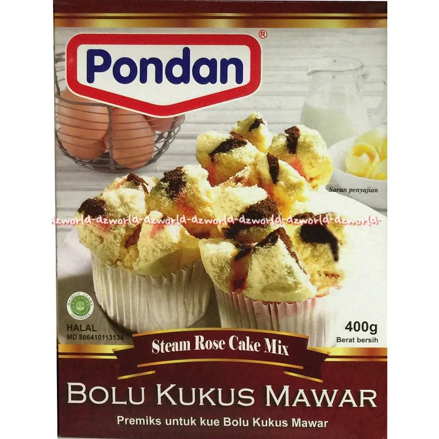 Pondan Sponge Cake Mix Rasa Vanilla Tepung Premiks Kue Spong Puding Flan Vanila Pouch Shopee Indonesia