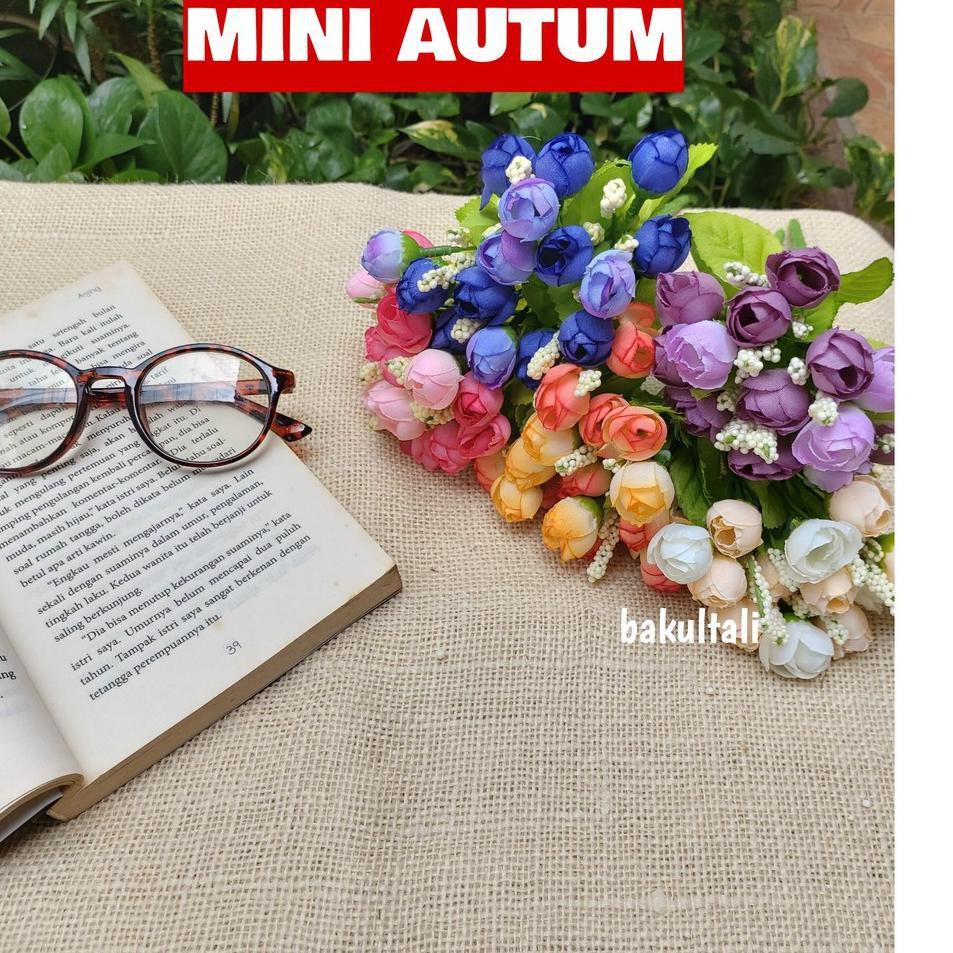 Pasti Baru Mini Autum Bunga Plastik Shopee Indonesia