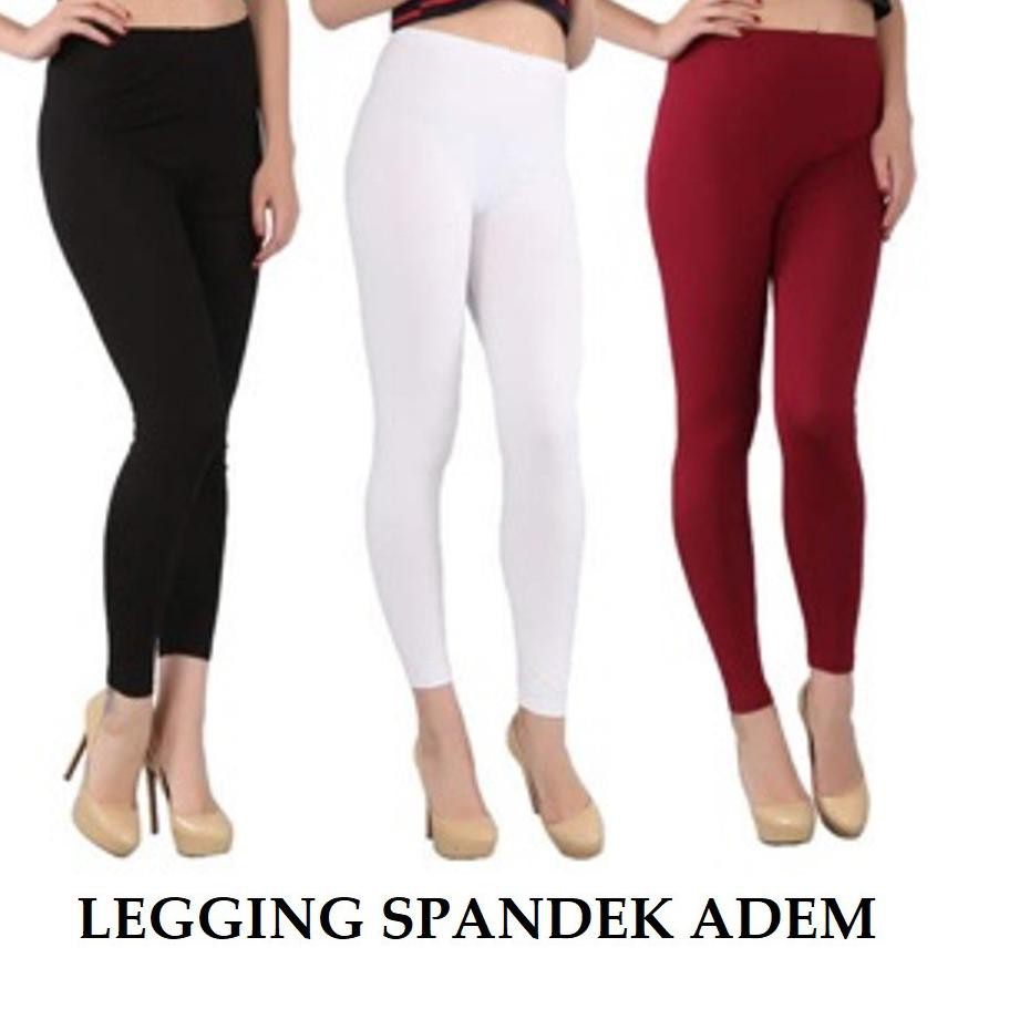 Kode U0842 Celana Legging Panjang Tebal Elastis Spandek Harga Grosir Leging Lejing Leggings Shopee Indonesia