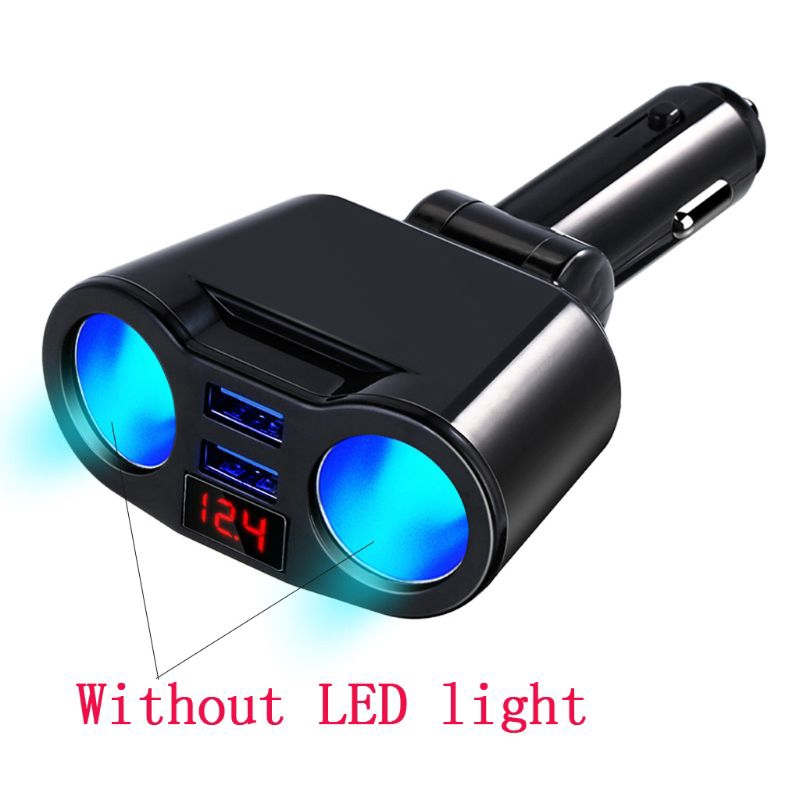 Car Truck Dual USB Port High Output DC Lighter Universal Charger iPhone iPod