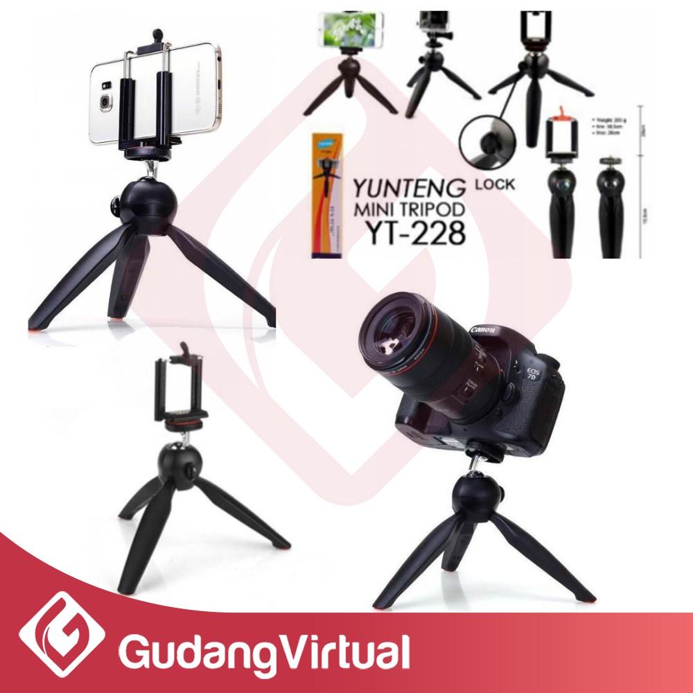 Paket Selfie Yunteng Bluetooth Tripod Mini Yt 1288 228 Tripot Weifeng 3110 Top Camera Hp Handycamp Kualitas Thebest Shopee Indonesia