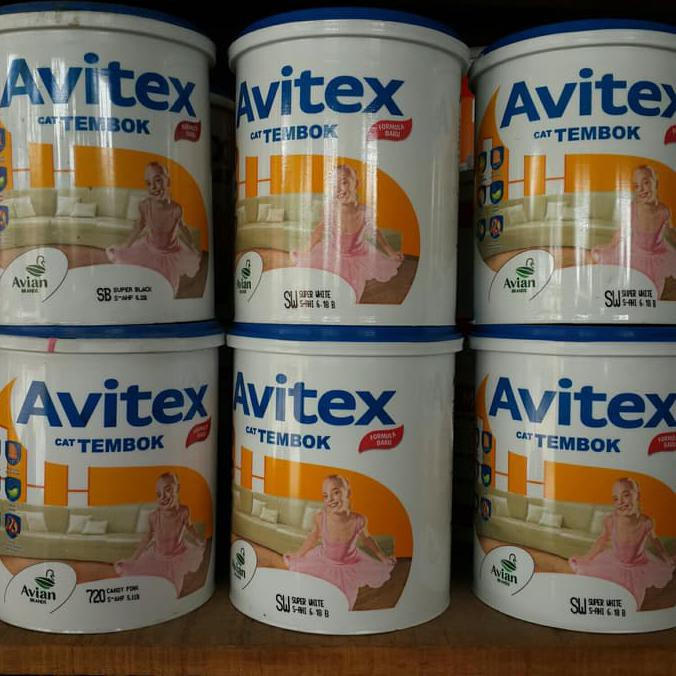 Kombinasi Warna Cat Rumah Avitex