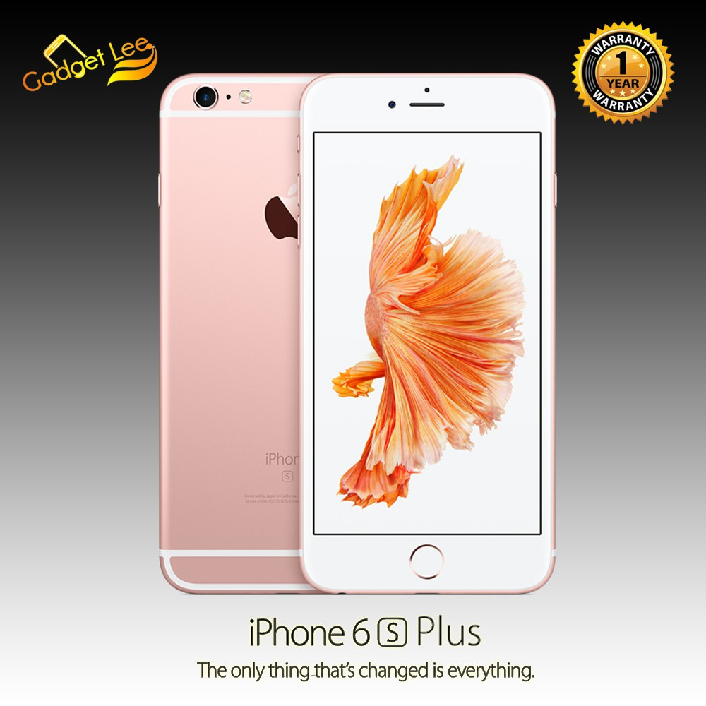 Apple iPhone 6S Plus 16GB Rose Gold - Garansi Distributor 1 Tahun ... 8469c7d5bf