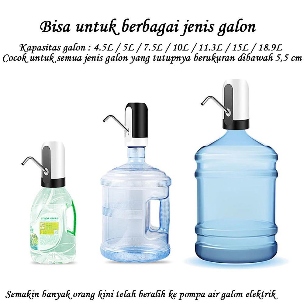 Electric Water Pump / Pompa Galon Elektrik / Pompa Air Galon Aqua Elektrik / Automatic Water Pump | Shopee Indonesia