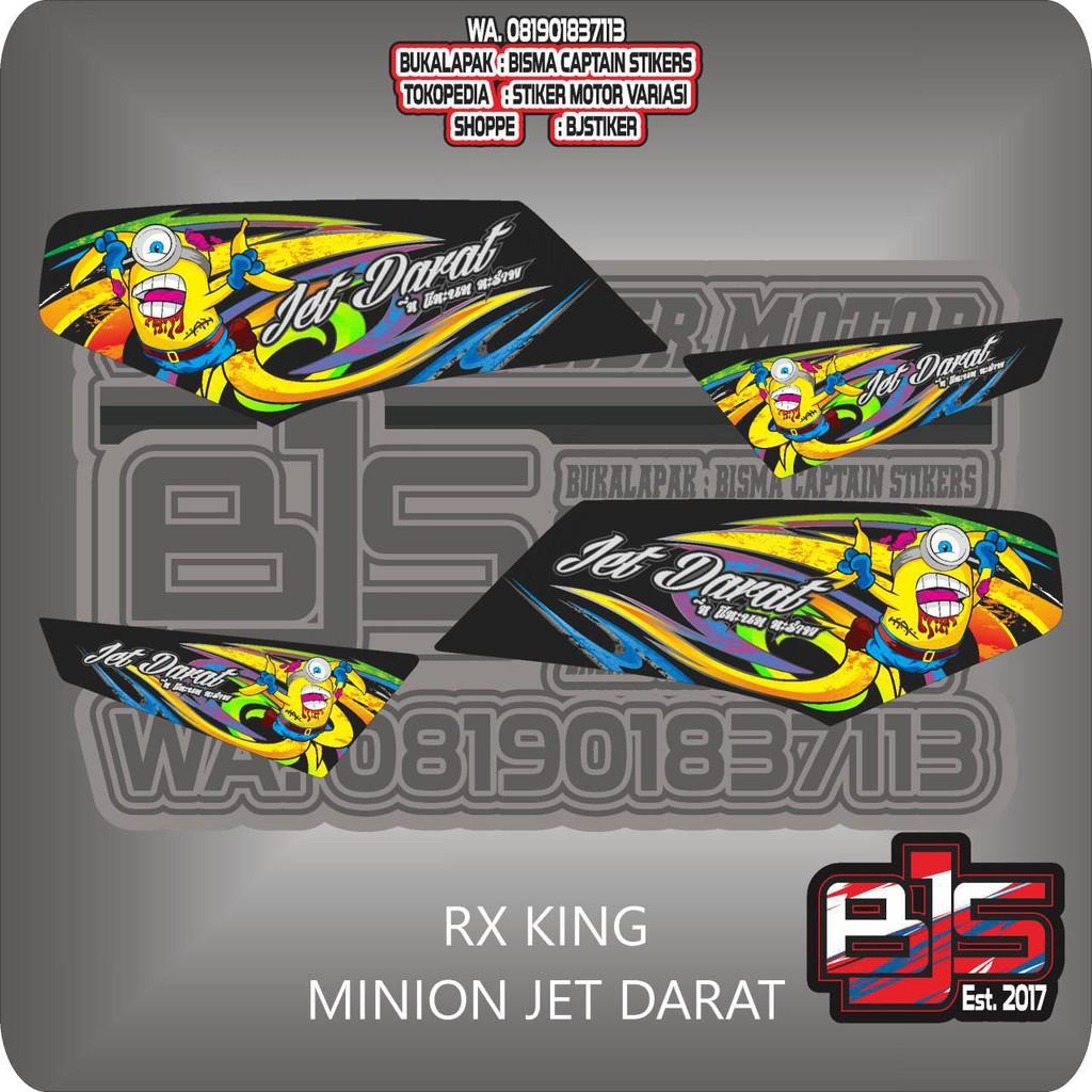 stiker striping list motor rx king brush minion zombie jet darat   Shopee Indonesia