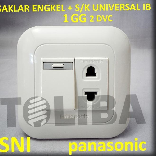 Saklar Engkel Stop Inbow Ib Panasonic Saklar Stop Kontak Universal Shopee Indonesia