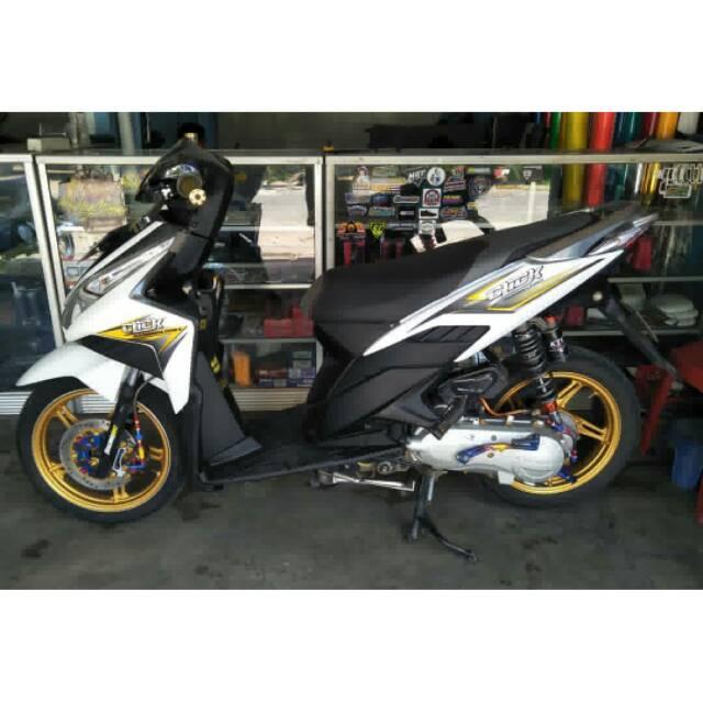 Striping Custom Vario Techno 110 Lama Mothai Thaillok Modifikasi