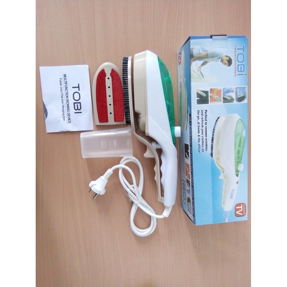 Setrika Uap Mini Lipat Steam Iron Traveling Hetian Shopee Indonesia Strika Foldable Travel Steamer Kecil