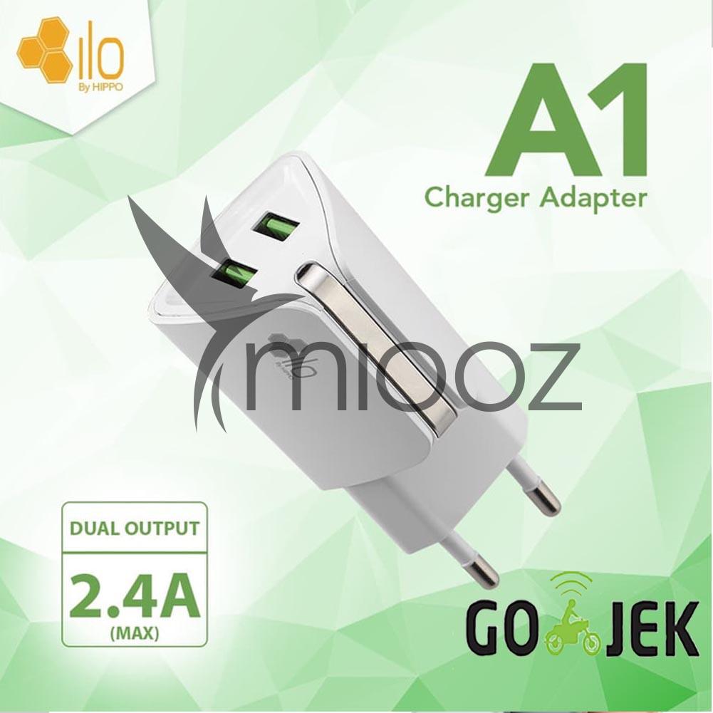 Car Charger Ilo Cf202 Sp Vp Fast Quick Charging 30 2 Usb Garansi Hippo Alf 24 A Resmi Shopee Indonesia
