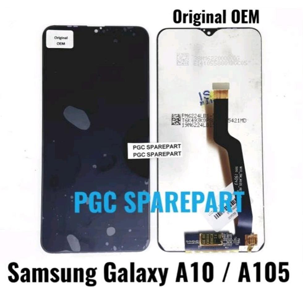 Original Oem Lcd Touchscreen Fullset Samsung Galaxy A10 A105 Best Seller Shopee Indonesia
