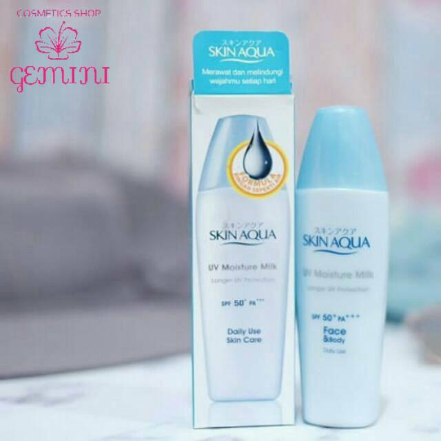 Big Promo Skin Aqua Spf 50 Pa Uv Moisture Milk 40gr Shopee Indonesia