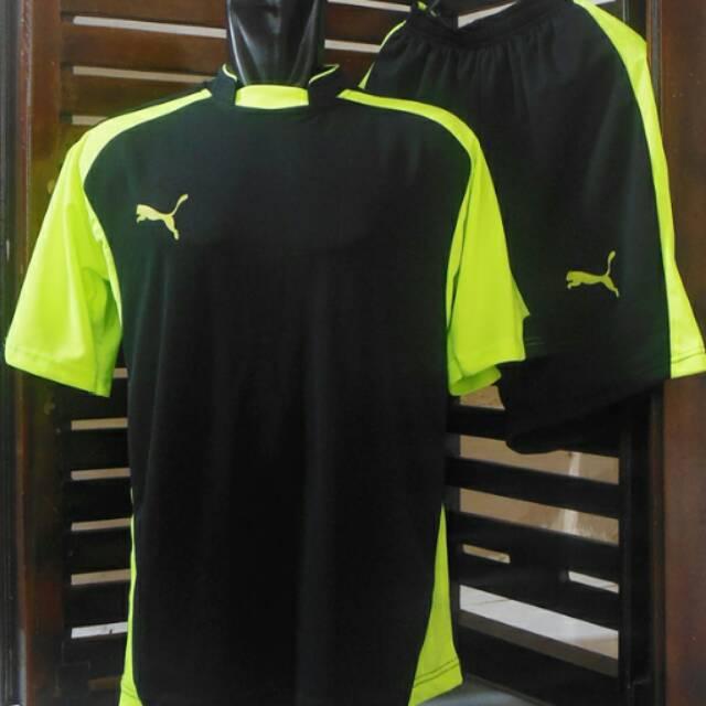Setelan Futsal  Jersey Puma  Kaos Olahraga  Baju Bola  Kostum  Team   Seragam  Badminton  Tenis  26af918ba4