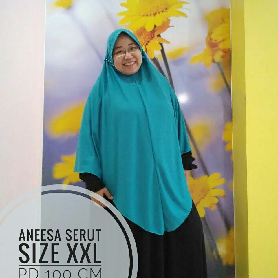 Hijab Instan Najwa Xl Bahan Kaos Katun Tc Tebaltidak Menerawang Jilbab Premium Hijau Dan Adem Jahitan Rapi Shopee Indonesia