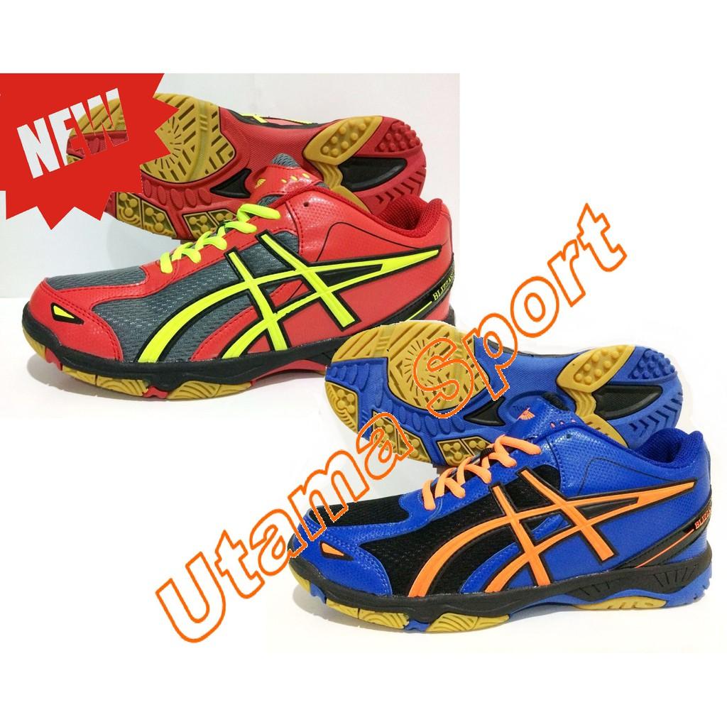 Sepatu Badminton Professional Profesional Blizzard New Colour Red 111 Voli Shopee Indonesia