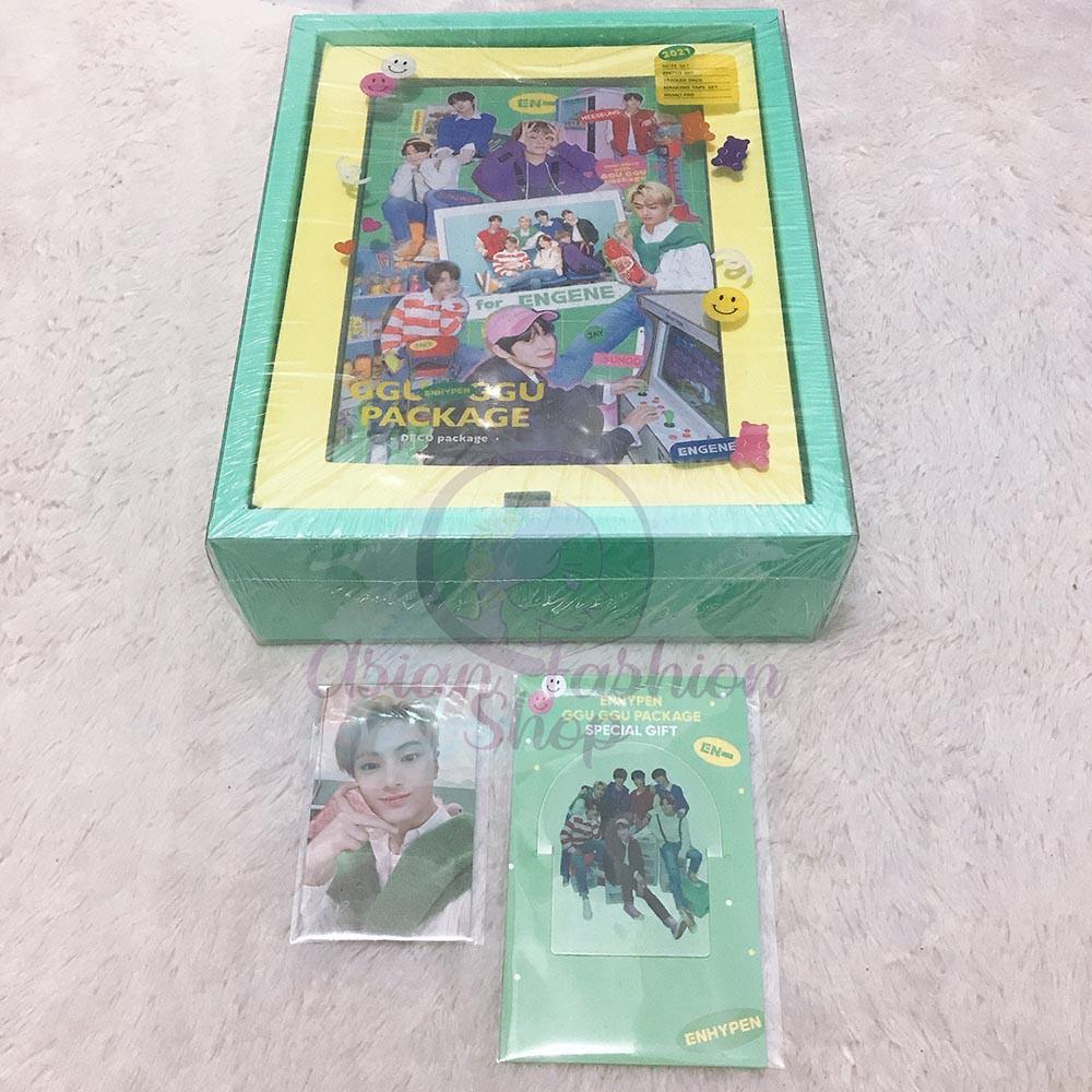 ENHYPEN GGU GGU DECO PACKAGE unsealed Jay (+PO gift)