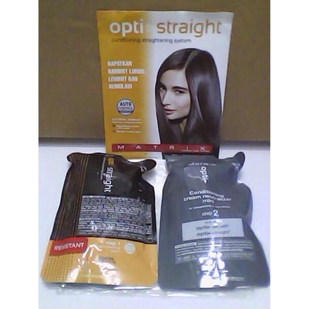 Matrix Rebonding Opti Straight Obat Pelurus Rambut Normal / Resistant Pelurus Rambut Jepang TERMURAH | Shopee Indonesia