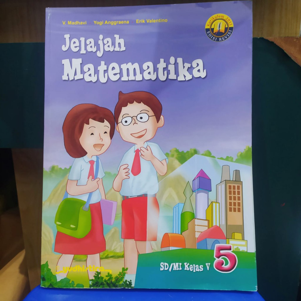 Jelajah Matematika Sd Kelas 5 Beserta Kunci Jawaban Yudhistira Kanal Jabar
