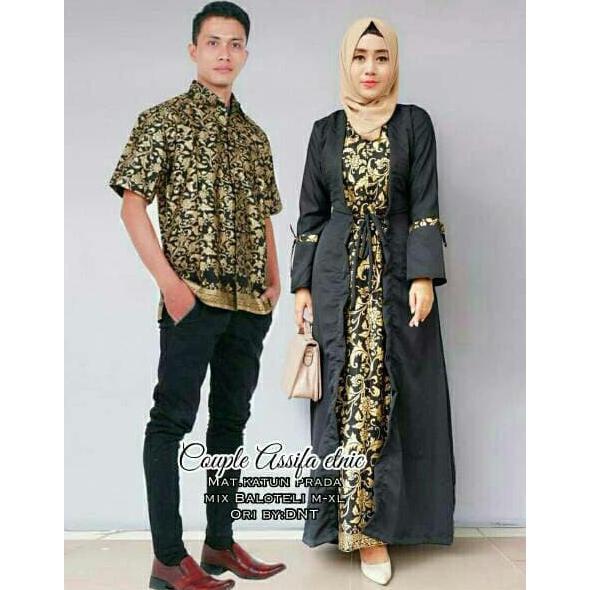 BAJU PESTA COUPLE PRINCESA GAUN / SARIMBIT GAMIS KEBAYA PRINCESSA | Shopee Indonesia