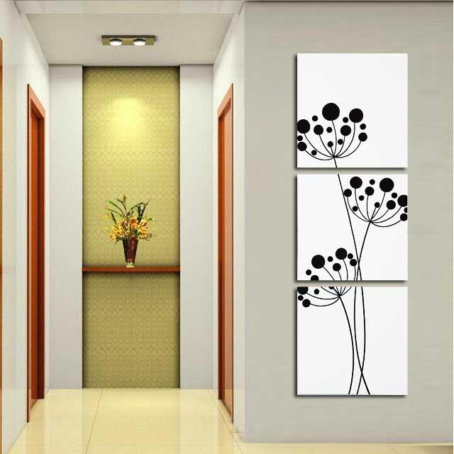 Dekorasi Ruang Tamu Ruang Keluarga Hiasan Dinding Lukisan 4h