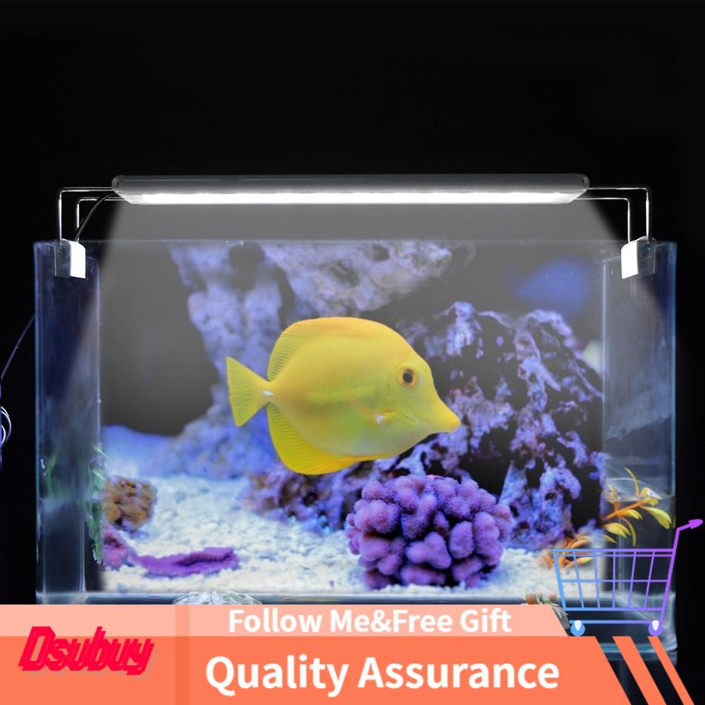 Wholesale Price Tank Lamp Aquarium Mini Light Plug Clip On Led Extendable Eu Fish 20v Shopee Indonesia