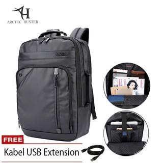Arctic Hunter Tas Laptop Backpack Ransel Waterproof Tas anti air AH-EB - Hitam