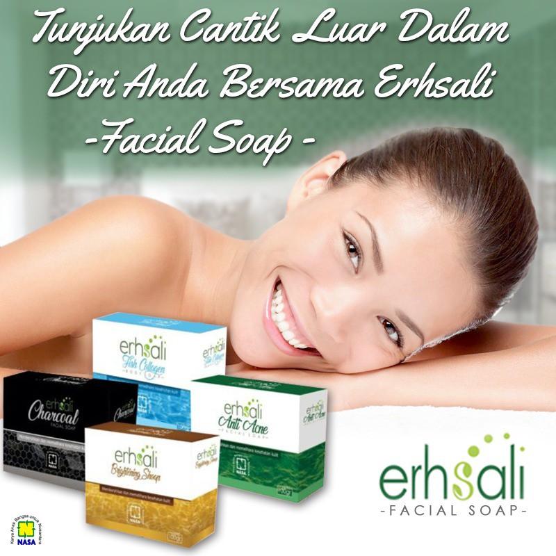 Erhsali - Sabun Wajah / Whitening - Perawatan wajah Original PT. NASA | Shopee Indonesia