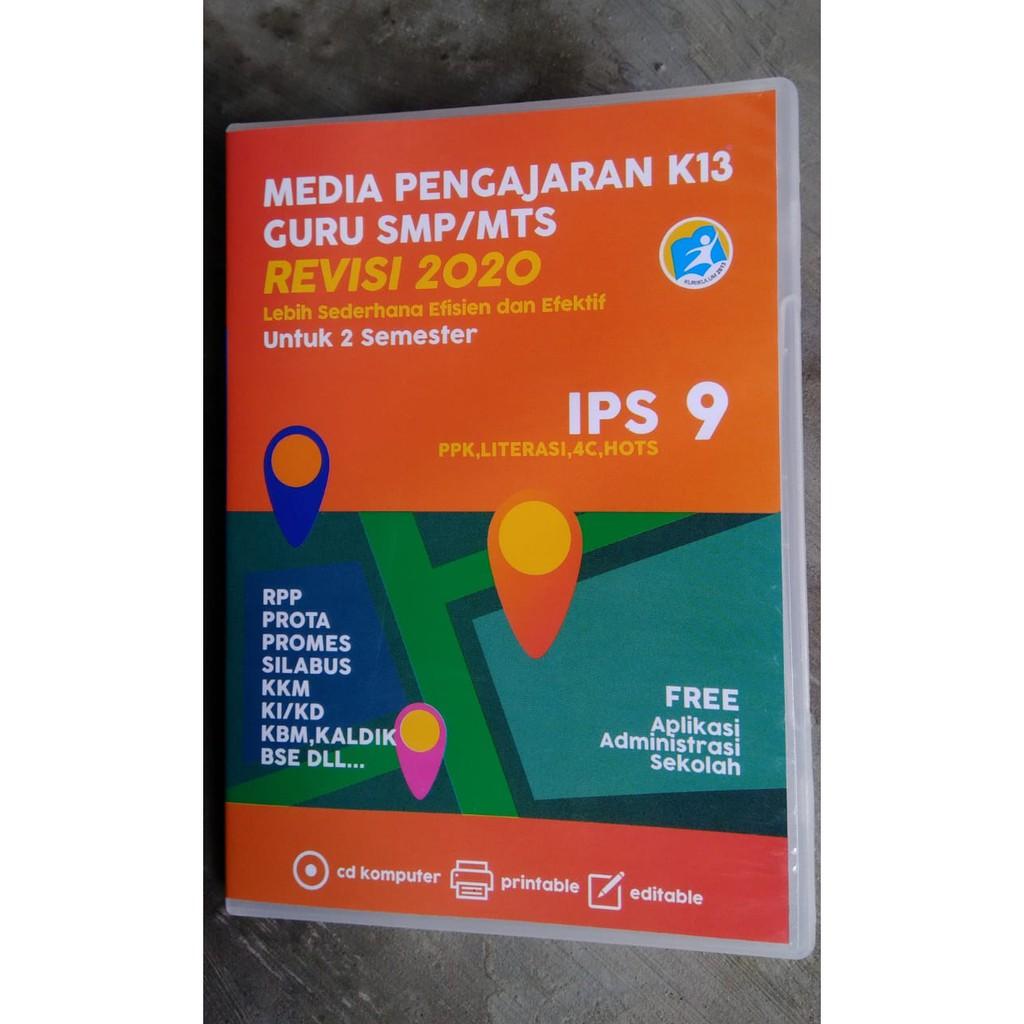 Dvd Rpp Ips Kelas 9 Revisi 2020 Shopee Indonesia