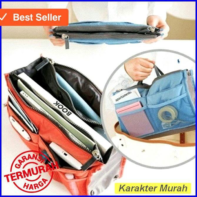 Korea Dual Bag - Tas Organizer / Bag in bag / Tas - organizer | Shopee Indonesia