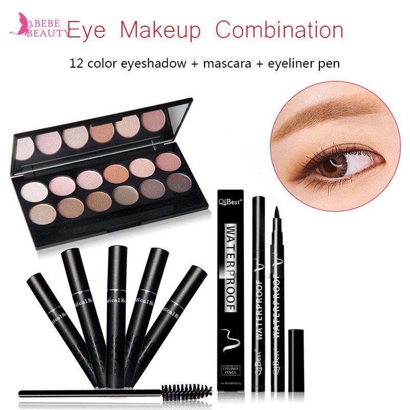 BIOAQUA 5 in 1 Eyebrow / BB Cream / Maskara / Eyeliner / Contour | Shopee Indonesia