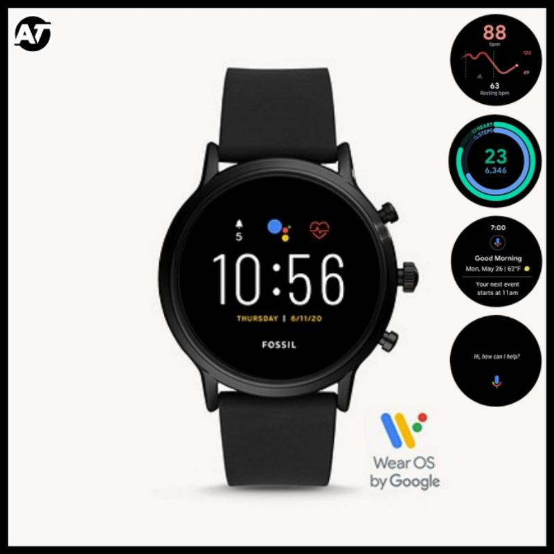 Smartwatch Fossil Pria - Fossil Smartwatch Gen 5 FTW4025 ORIGINAL Resmi