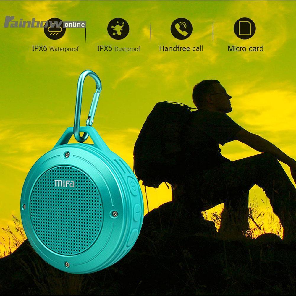 Ele Baru Speaker Xiaomi Mifa F10 Bluetooth Portable Outdoor Red A20 Original Garansi Not F7 A10 F6 Merah Shopee Indonesia