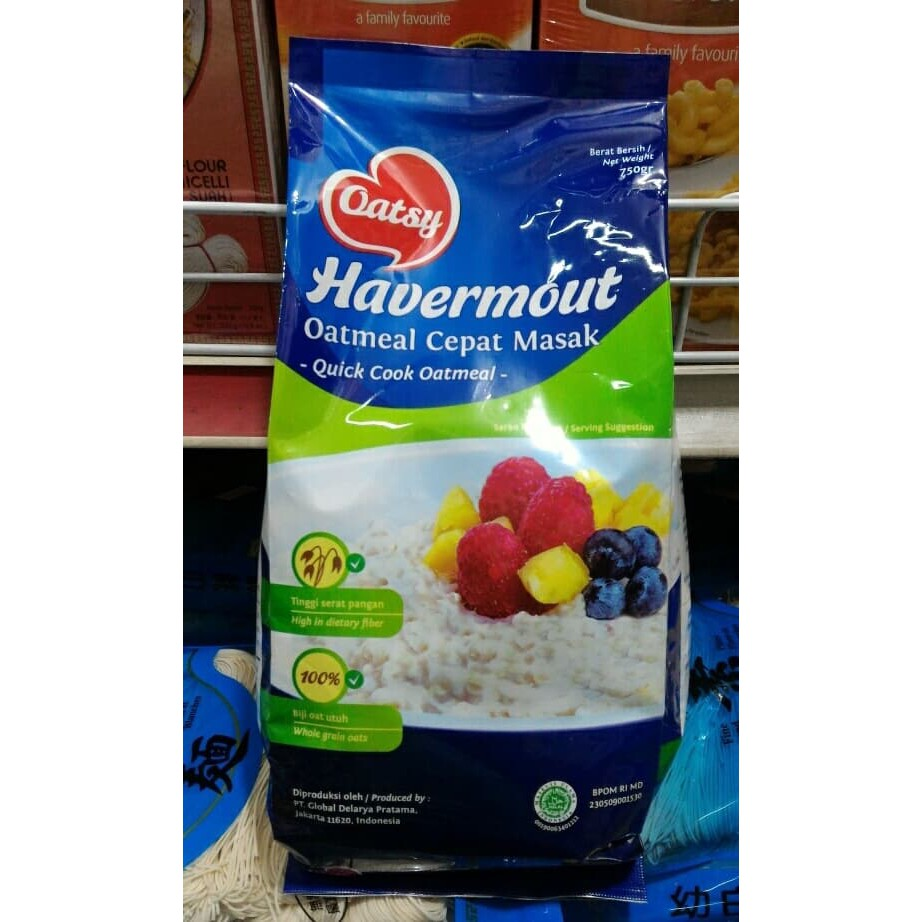 Havermout, Oatsy 750grm, Quick Cook Oatmeal