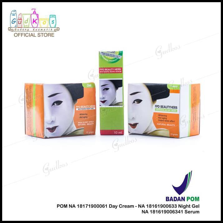 Paket Komplit FPD / Paket Magic Glossy (Cream Siang + Malam + Serum) |