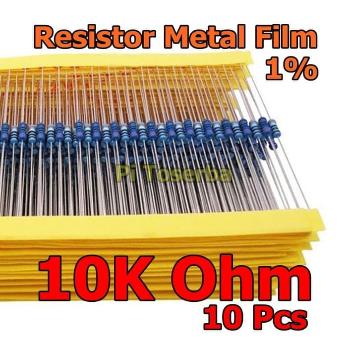 100pcs 1//4w Watt 10 ohm 10ohm Metal Film Resistor 0.25W 10R 1/%